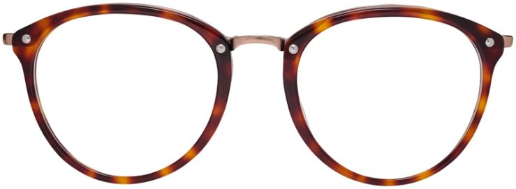 Prescription Glasses Model DC320-Tortoise-FRONT