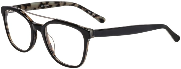 Prescription Glasses Model DC321-Black-45