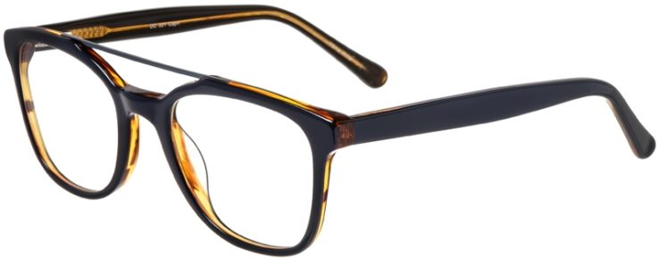 Prescription Glasses Model DC321-Blue-45