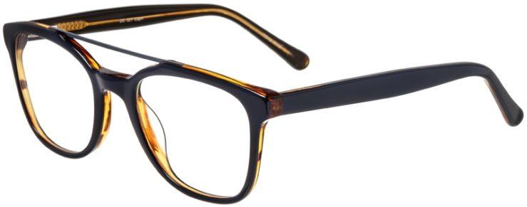 Prescription Glasses Model DC321-Blue-45