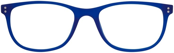 Prescription Glasses Model Download-Blue-FRONT