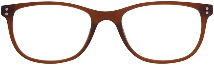 Prescription Glasses Model Download-Brown-FRONT