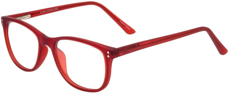 Prescription Glasses Model Download-Burgundy-45