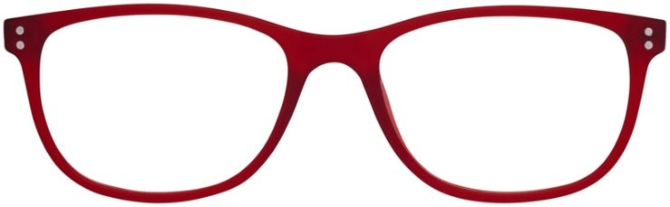 Prescription Glasses Model Download-Burgundy-FRONT