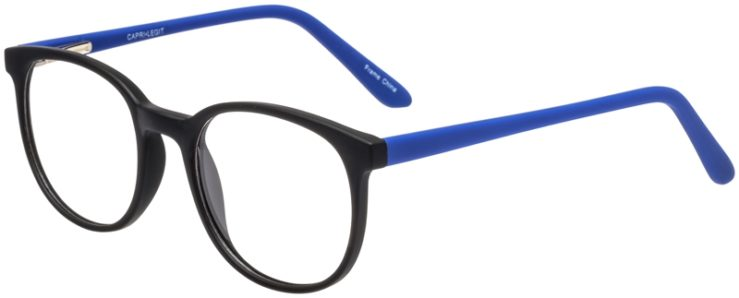 Prescription Glasses Model Legit-BlackBlue-45