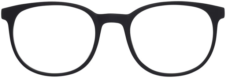 Prescription Glasses Model Legit-BlackBlue-FRONT