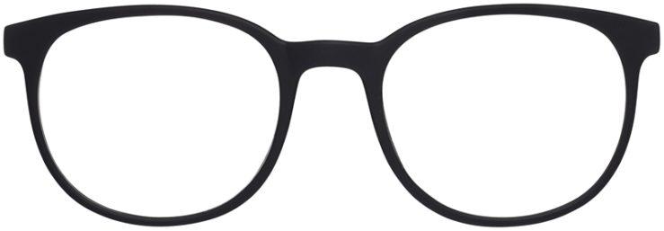 Prescription Glasses Model Legit-BlackBlue-FRONT