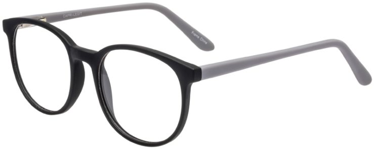 Prescription Glasses Model Legit-BlackGrey-45