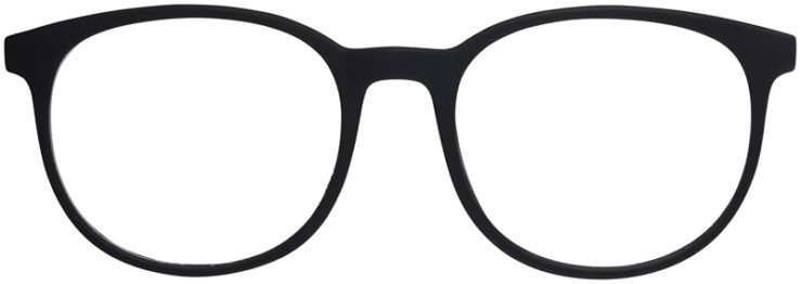 Prescription Glasses Model Legit-BlackGrey-FRONT