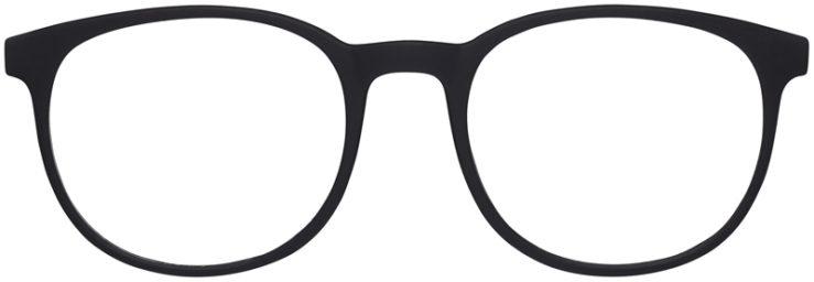 Prescription Glasses Model Legit-BlackRed-FRONT
