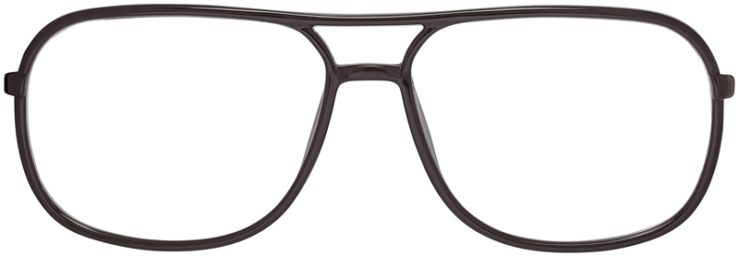 Prescription Glasses Model Leo-Brown-FRONT
