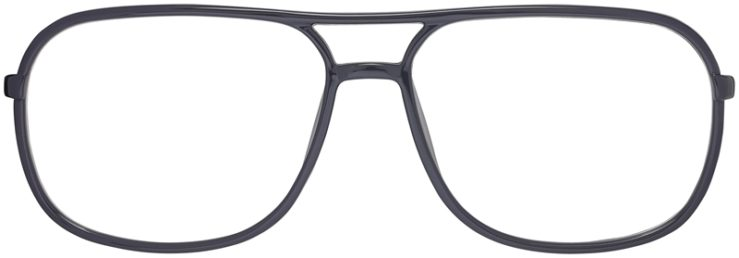 Prescription Glasses Model Leo-Grey-FRONT