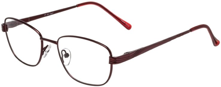 Prescription Glasses Model PT90-Burgundy-45