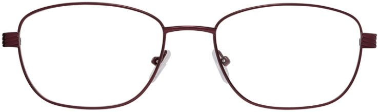 Prescription Glasses Model PT90-Burgundy-FRONT