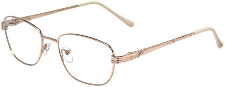 Prescription Glasses Model PT90-Gold-45