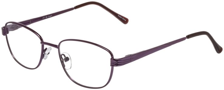 Prescription Glasses Model PT90-Purple-45