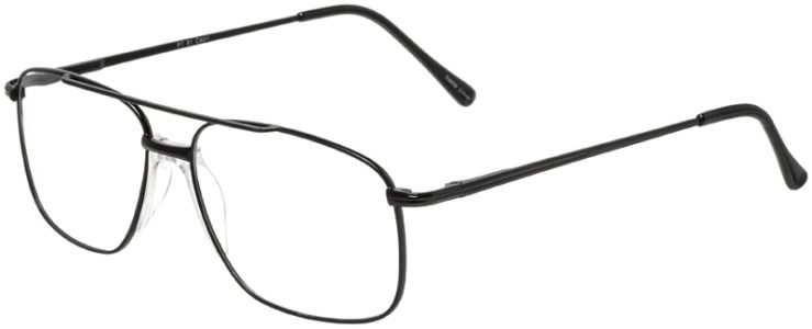 Prescription Glasses Model PT91-Black-45
