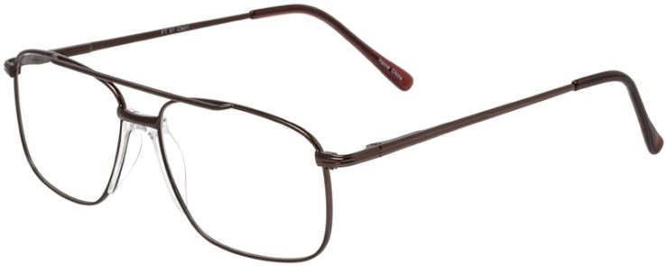 Prescription Glasses Model PT91-Brown-45