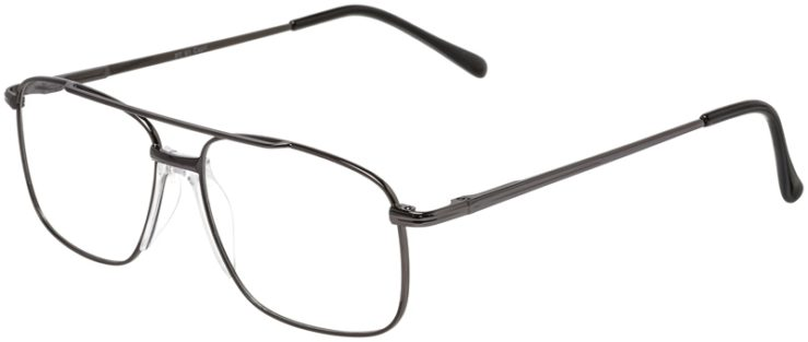 Prescription Glasses Model PT91-Gunmetal-45
