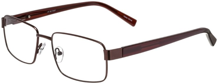 Prescription Glasses Model PT92-Brown-45