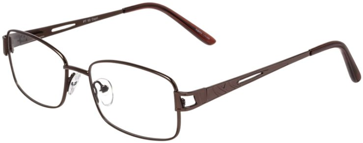 Prescription Glasses Model PT93-Brown-45
