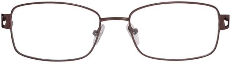 Prescription Glasses Model PT93-Brown-FRONT