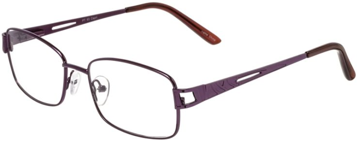 Prescription Glasses Model PT93-Purple-45
