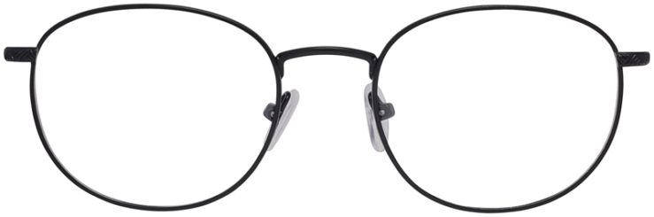 Prescription Glasses Model PT94-Black-FRONT