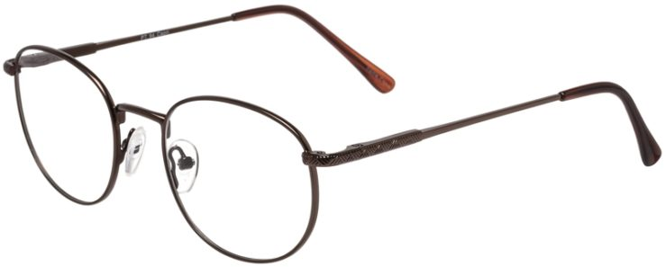 Prescription Glasses Model PT94-Brown-45