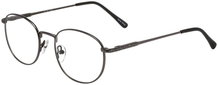 Prescription Glasses Model PT94-Gunmetal-45