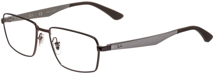 Ray-Ban Prescription Glasses Model RB6334-2511-45