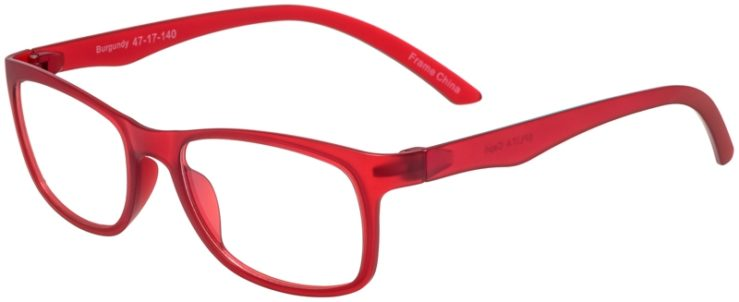 Prescription Glasses Model SplitA-Burgundy-45