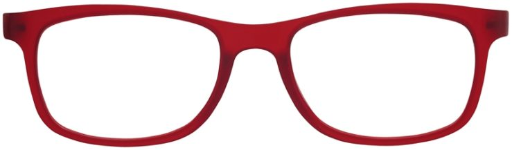 Prescription Glasses Model SplitA-Burgundy-FRONT