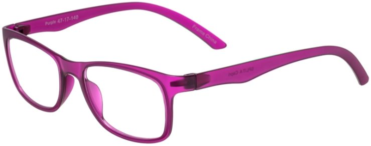 Prescription Glasses Model SplitA-Purple-45