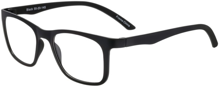Prescription Glasses Model SplitB-Black-45