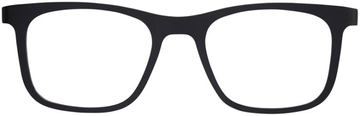 Prescription Glasses Model SplitB-Black-FRONT
