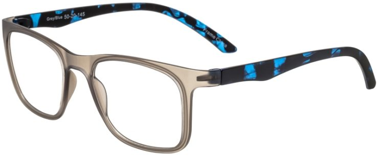 Prescription Glasses Model SplitB-GreyBlue-45