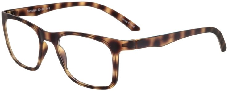 Prescription Glasses Model SplitB-Tortoise-45