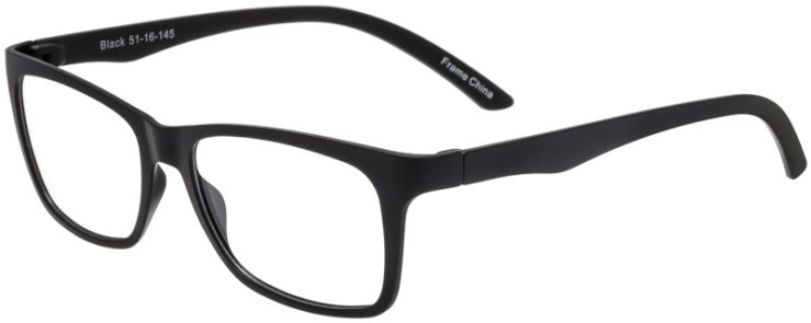 Prescription Glasses Model SplitC-Black-45