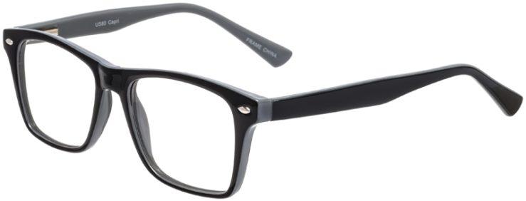 Prescription Glasses Model US80-Black-45