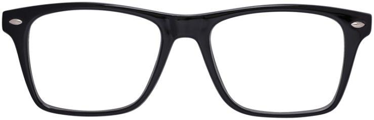 Prescription Glasses Model US80-Black-FRONT