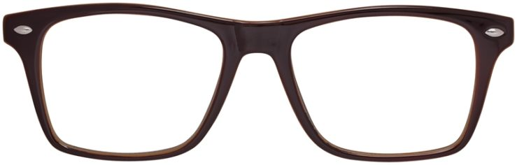 Prescription Glasses Model US80-Brown-FRONT