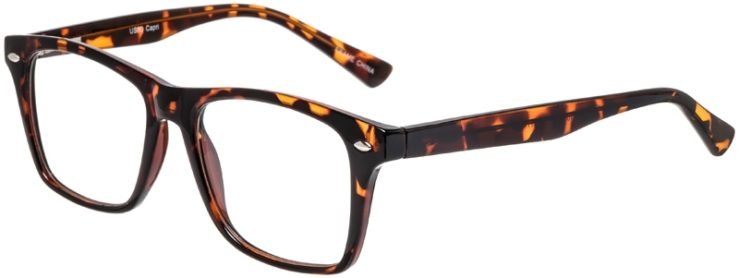Prescription Glasses Model US80-Tortoise-45