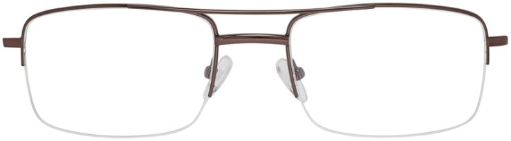 Prescription Glasses Model VP134-Brown-FRONT