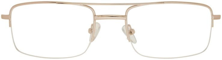 Prescription Glasses Model VP134-Gold-FRONT
