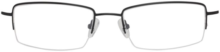 Prescription Glasses Model VP214-Black-FRONT