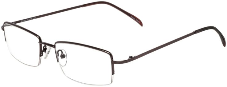 Prescription Glasses Model VP214-Brown-45