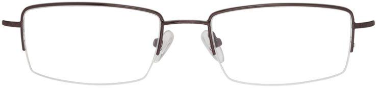 Prescription Glasses Model VP214-Brown-FRONT