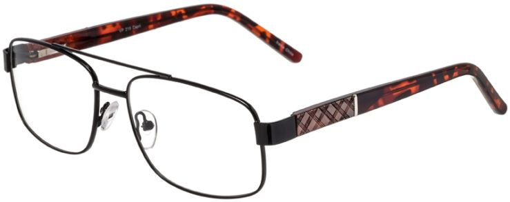 Prescription Glasses Model VP215-Black-45