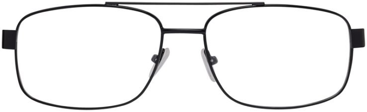 Prescription Glasses Model VP215-Black-FRONT